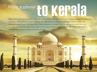 From Kashmir to Kerala