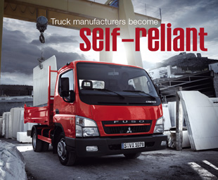 Truck manufacturers become self-reliant