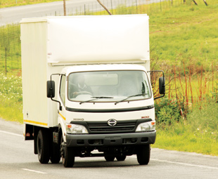 The all-new Hino 300