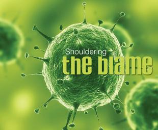 Shouldering the blame