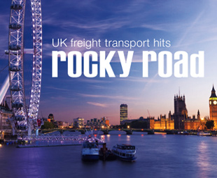 UK freight transport hits rocky road