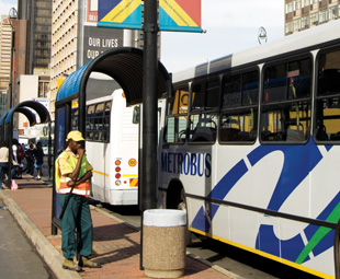 Bumping buses
