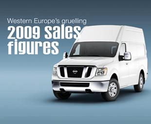 Western Europe's gruelling 2009 sales figures