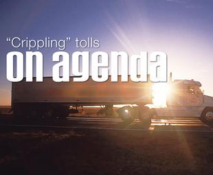 """""""Crippling"""" tolls on agenda"""