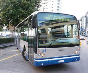 Hybrid bus advancement