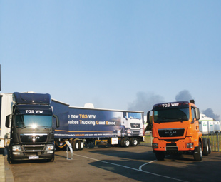 MAN boosts its African truck range