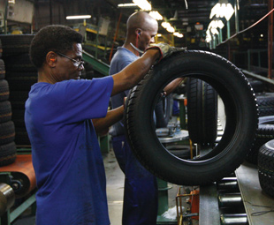 Automotive industry goes green