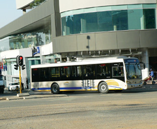 Gautrain and bus… counting the pennies