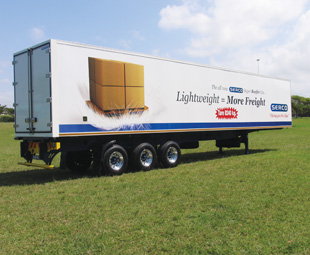The trailer says it all: payload is a major consideration in trailer design.