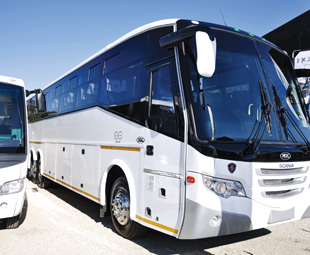 After three years in South Africa, Egyptian bus manufacturer MCV has opened a body factory in Cape Town. Pictured is the S140R 70-seater coach.