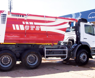 CTS' Hardox Euro Tipper offers a 10 m3 capacity and 16-tonne payload.