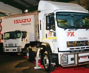 suzu Trucks had an eye-catching stand at JIMS.