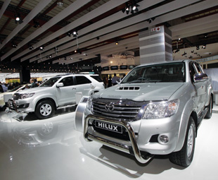 Toyota's Hilux Heritage Edition celebrates Toyota South Africa's 50th anniversary.