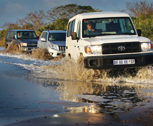 Land Cruiser is the master of Africa – models include the 76 Station Wagon, Prado and 78 Wagon.