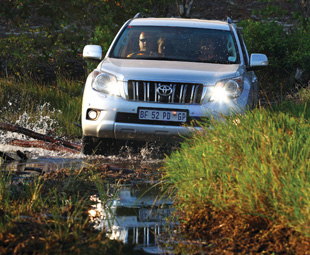 It's more often seen cruising the boulevards of Sandton, but the Land Cruiser Prado does the rough-stuff just as well.