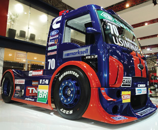 The Ford DF Motorsport Race Truck, based on the ford Cargo 9332, will participate in the Formula Truck 2012 season.