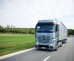 """""""I would introduce the new Actros tomorrow - if the right fuel was available. I would love that!"""" says Van Zyl."""