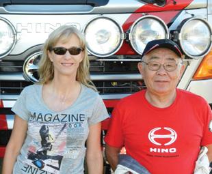 FOCUS editor Charleen Clarke meets the legendary Yoshimasa Sugawara, who competed in his 30th Dakar in a Hino.