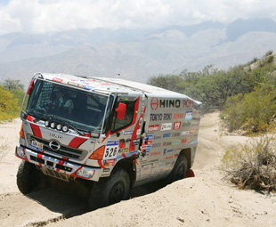 Hino did extremely well at the Dakar, achieving its third consecutive victory in the category for trucks with engines of less than 10-litres capacity.