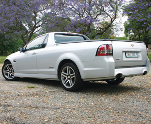 Grin-machine one day, load lugger the next: the Lumina SSV Ute is an all-round brilliant machine.