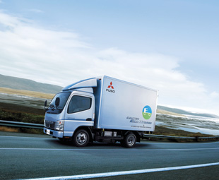 With a three tonne payload, the Mitsubishi Fuso Canter-Eco Hybrid will be launched internationally later this year.