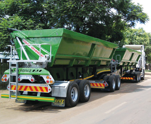 A side tipper is not classified as an abnormal load vehicle.