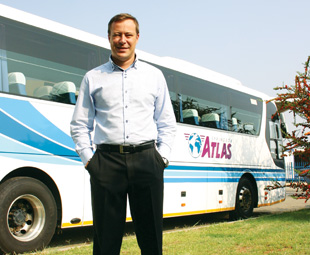 Springbok Atlas is using its fleet – along with Craig Drysdale's, CEO of the Coach Transport Division, marketing skills – to package South Africa into a top tourism destination.