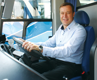 With Craig Drysdale, CEO of the Coach Transport Division at Springbok Atlas, in the drivers-seat, the company will certainly soar to new heights.