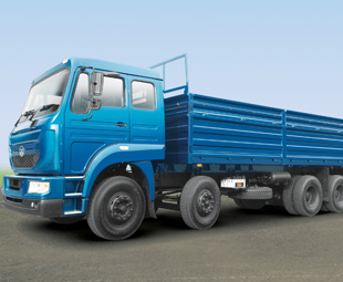 Tata's LPT3723 is a new multi-axled freight carrier model from its traditional range for the Indian market.