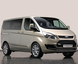 Ford's Tourneo Custom Concept provides a first peek at the new Transit family
