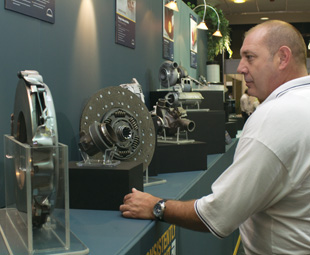 MAN emphasises its stance on safety by displaying its range of genuine parts at SABOA Conference 2012.
