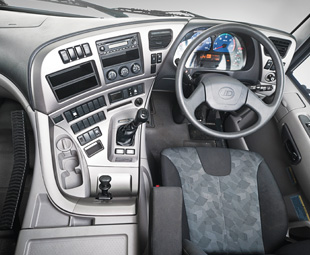 Interior comfort has been upgraded. Flagship models feature numerous luxury items.
