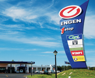 Engen provides the means for some gallon-vanting