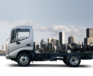 The handsome new Hino 300