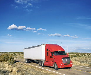 In 2008, truck combinations covered a total of 183 826 million miles (294 121 million km) in the US.