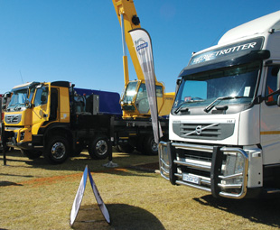 Volvo Trucks South Africa focused its   attention on the construction industry as well.