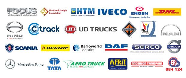 Truck Test 2012 sponsors