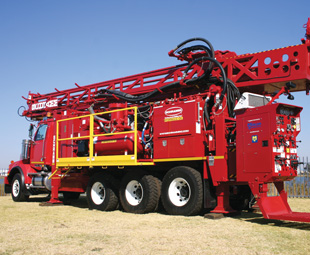 """The """"Rolls-Royce"""" of drilling rigs, and one of the most specialised brands of truck available – a heady combination of heavy machinery."""