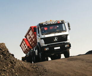 Chinese truckmaker Powerstar has continued its upward progress in the local market, improving its volume by a further 7,4 percent in comparison with the January-March result.