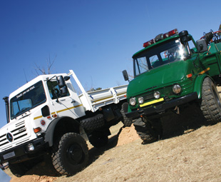 The never-say-die Unimog is perfect for any tough application.