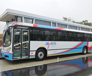 Rustenburg's Rapid Transport (RRT) system took what it could from other BRT ventures, such as MyCiti in Cape Town.