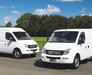 Shanghai Automotive's Maxus van, derived from a British LDV design, will enter the Australian market in October, 2012.