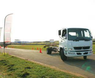 A parking challenge were among some of the activities FUSO treated  its guests to.