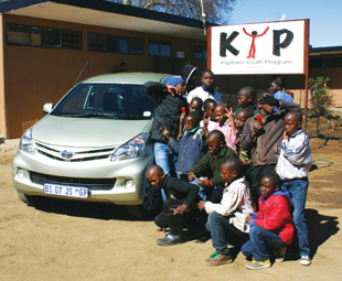 Avanza took the author and his family on a Women's Day excursion to the Kliptown Youth Programme in Soweto.
