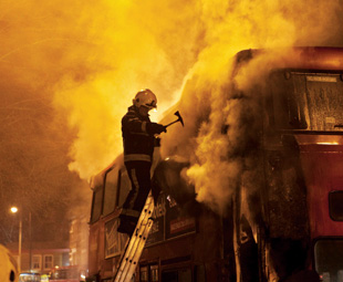 Bus fire phobia