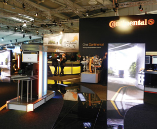 Continental emphasised the fact that its tyres are becoming increasingly green.