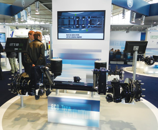 BPW launched its new ECO Turn self-steering axle at the IAA.