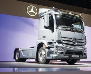 Daimler rocks IAA!