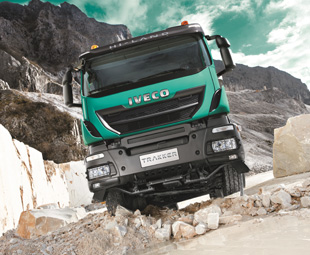 The new Trakker, with an extensively redesigned cab, enjoyed its world premiere during the show.