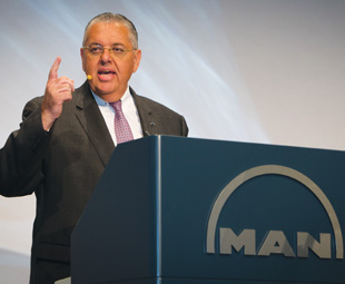 Roberto Cortes, president of MAN Latin America, revealed that the commercial vehicle market in Brazil had declined sharply.